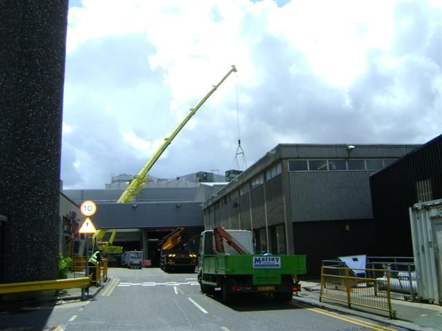 Industrial Dismantling in Lancashire : Armquest Industrial Services Ltd